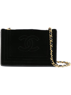 сумка со строчкой на цепочке Chanel Vintage