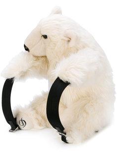рюкзак  в виде пушистого медведя Dolce & Gabbana