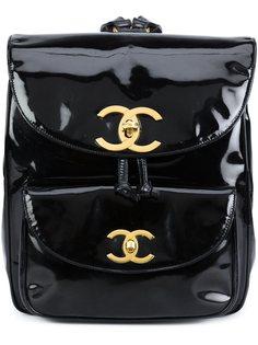 рюкзак с клапаном Chanel Vintage
