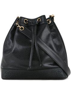 сумка на плечо с цепочкой CC Chanel Vintage