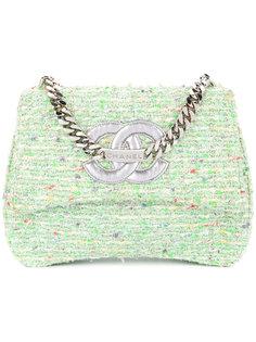 твидовая сумка на цепочке Chanel Vintage