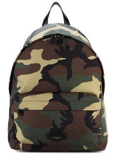 рюкзак с камуфляжным принтом Givenchy
