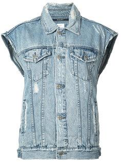 джинсовая куртка без рукавов Ksubi