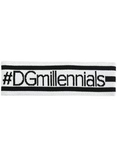повязка на голову #DGmillennials Dolce & Gabbana