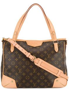 сумка-тоут с узором-логотипом Louis Vuitton Vintage