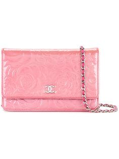 сумка на плечо с цепочкой Camellia CC Chanel Vintage
