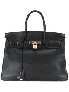 зернистая сумка-тоут Birkin 35 Hermès Vintage