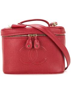 сумка-тоут с логотипом CC Chanel Vintage