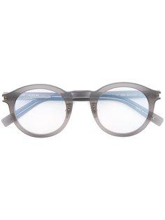очки в круглой оправе Saint Laurent Eyewear