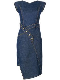 асимметричное джинсовое платье  Christian Dior Vintage