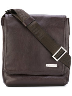 logo plaque messenger bag Baldinini