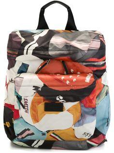 рюкзак с геометрическим узором  Paul Smith