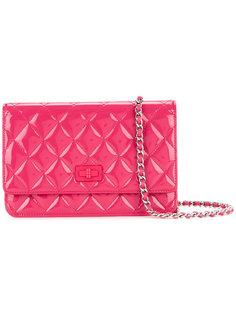 стеганая сумка на плечо с цепочкой CC Chanel Vintage