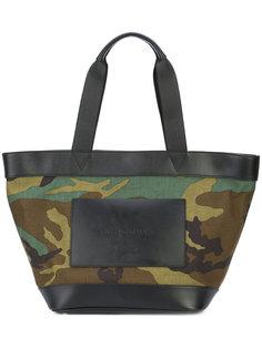 камуфляжная сумка-тоут с тисненым логотипом Alexander Wang