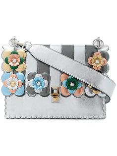 floral embellished leather Kan I handbag Fendi