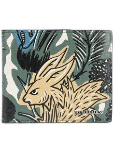 бумажник с принтом животных Burberry