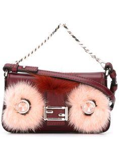 микро сумка через плечо Baguette  Fendi