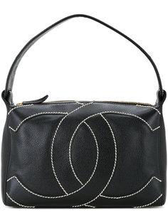 сумка с логотипом CC Chanel Vintage