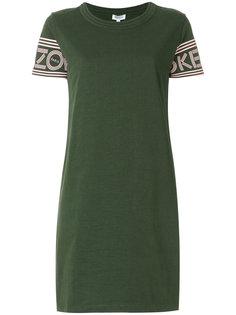 платье-футболка с логотипом  Kenzo