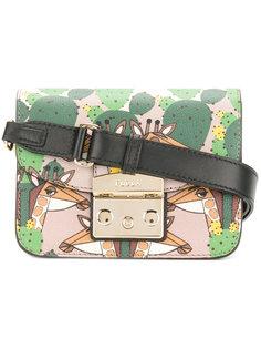 mini Metropolis giraffe shoulder bag Furla