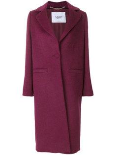 пальто миди с одной пуговицей  Blugirl