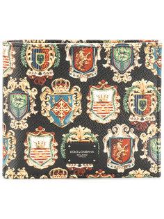 бумажник с гербами Dolce & Gabbana