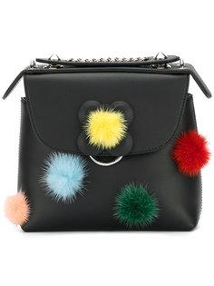 рюкзак с помпонами Fendi