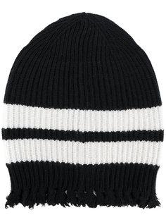 трикотажная шапка с бахромой MSGM