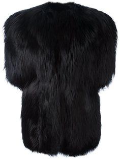 пальто с короткими рукавами Saint Laurent