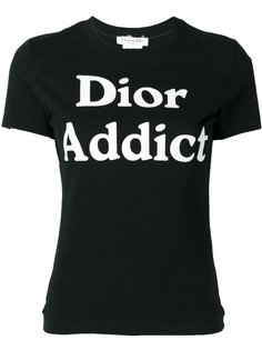 футболка Dior Addict Christian Dior Vintage