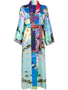 пальто-кимоно с рисунком Rianna + Nina