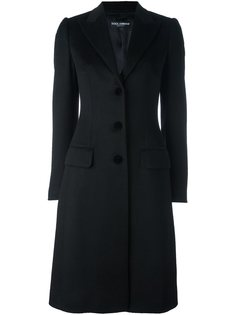 пальто на пуговицах  Dolce & Gabbana