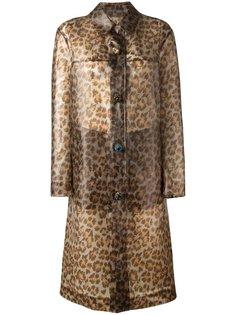 дождевик с леопардовым принтом Christopher Kane