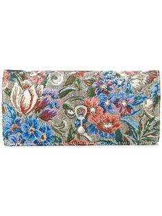 кошелек с цветочным рисунком Ermanno Scervino