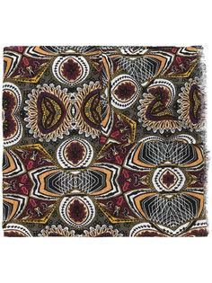 шарф с абстрактным рисунком Etro