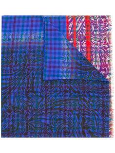 шарф с узором Etro