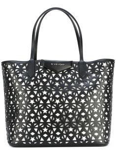 сумка-шоппер Antigona с вырезами Givenchy