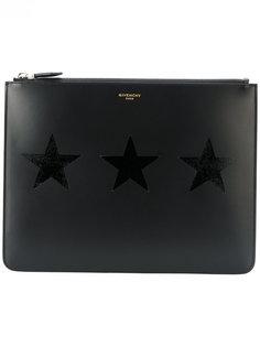 сумка с нашивкой-звездой  Givenchy