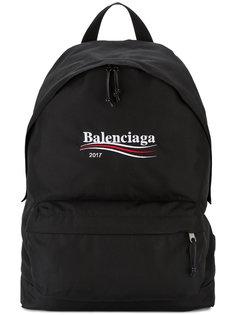 рюкзак с вышивкой Explorer Balenciaga