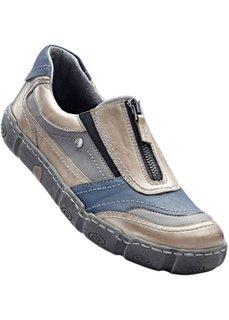 Удобные кроссовки (серый/нежно-голубой) Bonprix