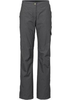 Функциональные брюки (шиферно-серый) Bonprix