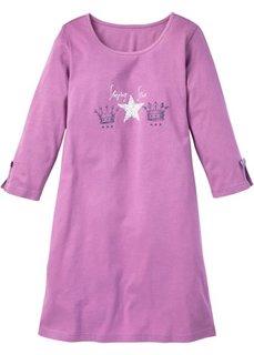 Ночная сорочка (ежевичный матовый с рисунком) Bonprix