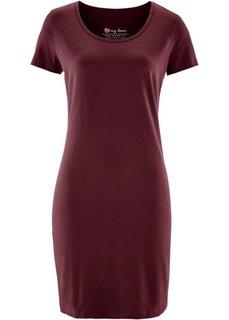 Платье стретч (кленово-красный) Bonprix