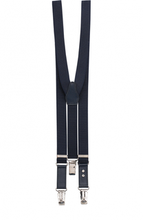 Подтяжки с отделкой из натуральной кожи Dolce & Gabbana