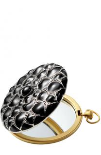 Двойное зеркальце Silver Isadora Collection Caron