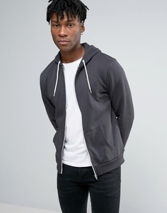 Темно-серое худи New Look - Серый