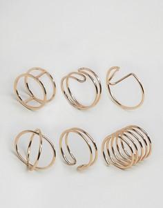 Наборные кольца ALDO Barkerville - Золотой