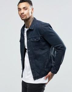 Крашенная джинсовая куртка Religion - Серый
