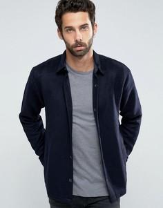 Шерстяная спортивная куртка Only & Sons - Темно-синий