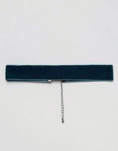 Ожерелье-чокер ASOS - Зеленый